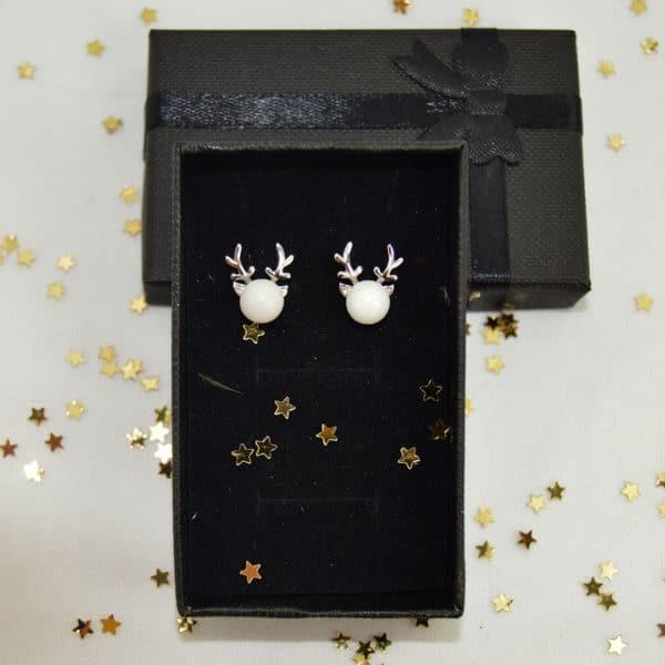 Boucles d'oreille-Rudolphe